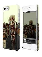Чехол для iPhone 4/4s/5/5s/5с зомби. zombie