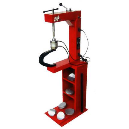 Вулканизатор с винтовым прижимом, на стойке, 2 нагревательные пластины, комплект прижимов (6 форм), TRAD004 TORIN, фото 2