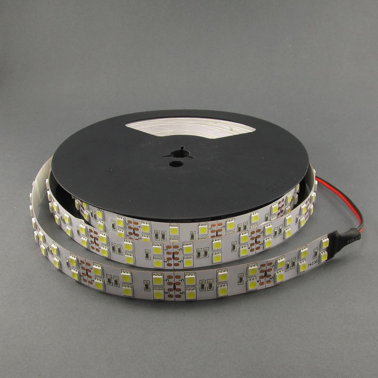 Светодиодная лента 5050/120 IP33 24В премиум белый
