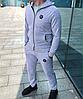 Серый мужской спортивный костюм Philipp Plein, фото 2