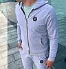 Серый мужской спортивный костюм Philipp Plein, фото 3
