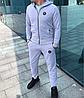 Серый мужской спортивный костюм Philipp Plein, фото 4