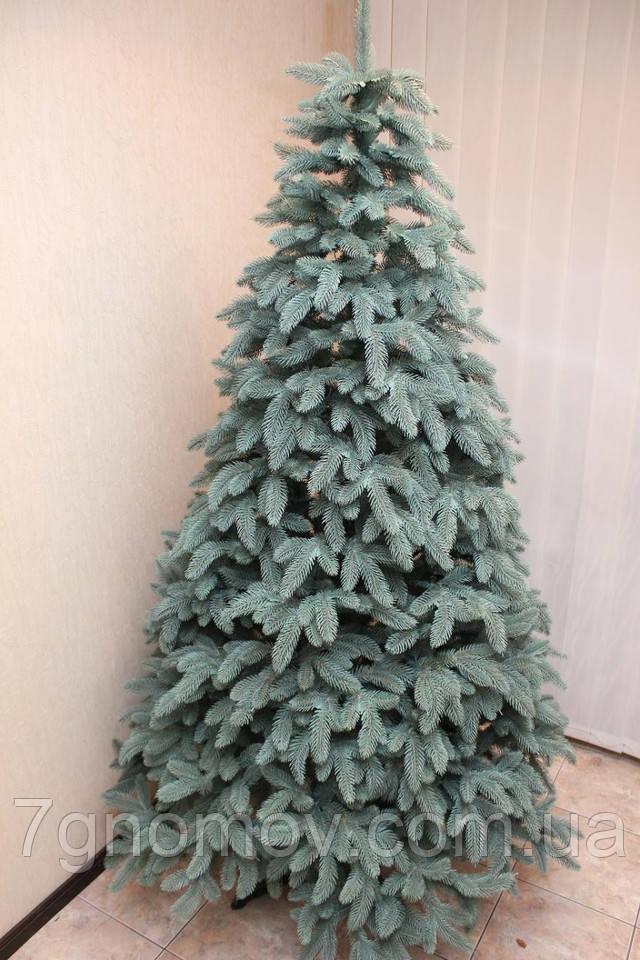 искусственная елка премиум голубая