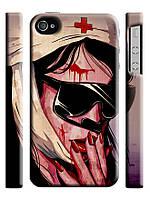 Чехол  на айфон 4/4s медсестра