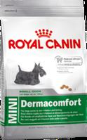 Royal Canin MINI DERMACOMFORT 0,8кг корм для собак маленьких размеров склонных к зуду и раздражению