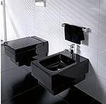 Черный унитаз - изюминка дизайна вашей ванной