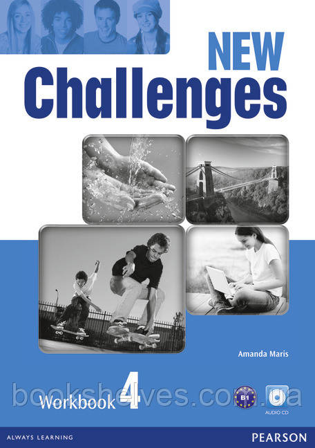 Challenges NEW 4 WorkBook+CD-Rom
