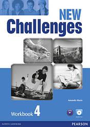 Challenges NEW 4 WorkBook+CD-Rom
