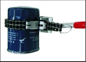 Ключ для снятия масляного фильтра цепной усиленный 60-160 мм (4724 JTC), фото 2