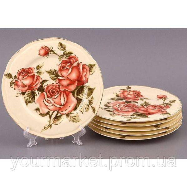 Тарелка Корейская роза 19 см Lefard 275-506