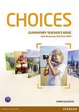 Choices Elementary Teacher's Book+DVD Multi-ROM