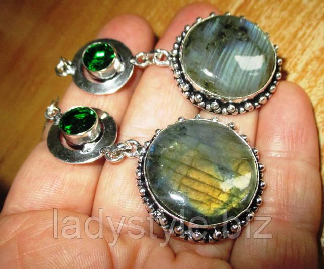 купить украшения с лабрадором, серьги кольцо перстень лабрадор купить