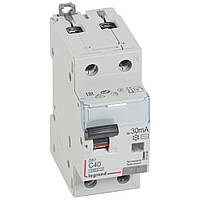 ⚡ Legrand DX³ Дифференциальный автомат 1П+Н C 40A 30mA-AC