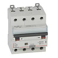 ⚡ Legrand DX³ Дифференциальный автомат 4П C 25A 30mA-AC