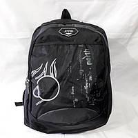 Черный тканевый рюкзак , фото 1