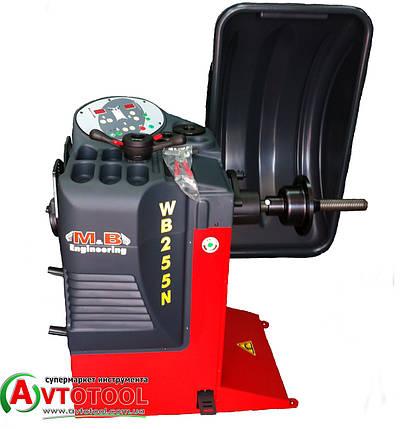 "Балансировочный автоматический стенд 230V, ?8-30"" M&B Engineering WB255, фото 2"