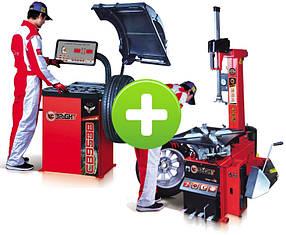 Комплект шиномонтажного оборудования LC887N+TK953