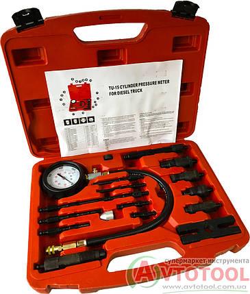 Компрессометр дизельный  (K-1009 ALLOID), фото 2