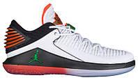 Кроссовки/Кеды (Оригинал) Jordan AJ XXXII Low White/Pine Green/Black/Rush Orange, фото 1
