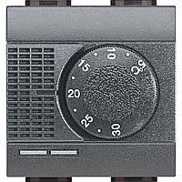 BTicino Электронный комнатный термостат с релейным выходом на один контакт 2А 250В 2 модуля