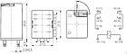 Промежуточные реле под цоколь  ERM4-230ACL 2473011, фото 3