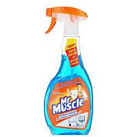 Чистящее средство для стекол 500мл Mr. Muscle профессионал синий w.01013