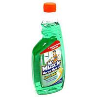 Чистящее средство для стекол 500мл Mr. Muscle профессионал зеленый, сменная бутылка w.00160