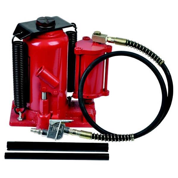 Домкрат бутылочный пневмо-гидравлический 20000 кг, h=160-490 мм, BEST ZX1001B