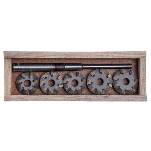 Набор зенкеров для сёдел клапанов ВАЗ 2110 16V (Днепропетровск), ШАР10-7Р