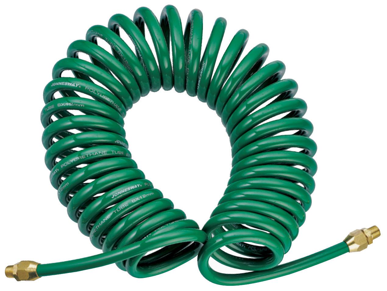 Шланг спиральный для пневмоинструмента 6,5х10 мм, 15м, JAZ-7214W JONNESWAY
