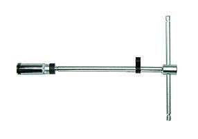 "3/8"" Ключ свечной Т-обр. с карданом 20.6 мм, L=500 мм (шарнир. фиксация) (807350020.6B Force)"