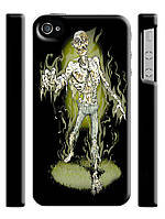 Чехол  на айфон 4/4s Зомби скелет