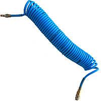 Шланг спиральный полиуретановый 6, 5*10мм L=20м, AHC46-H AIRKRAFT
