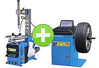 Комплект шиномонтажного оборудования BEST T521+W60