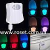Подсветка для унитаза LED  Light Bowl с датчиком движения.