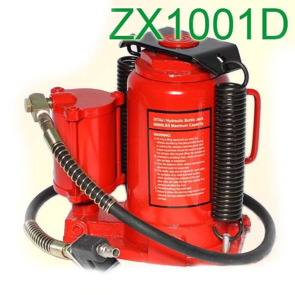 Домкрат бутылочный с пневмогидравлическим приводом 30 тонн (ZX1001D BEST)