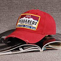 Кепка тракер бейсболка DSQUARED 2 красная в стиле