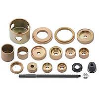 Набор инструментов для демонтажа/монтажа сайлентблоков нижнего рычага VAG (11 предметов) (4474 JTC)