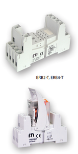 Цоколь ERB2-T тип Т 12A(для ERM2) на DIN-рейку