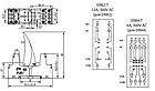 Цоколь ERB4-T тип Т 6A (для ERM4) на DIN-рейку, фото 5