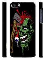 Чехол  на айфон 4/4s zombie скелет