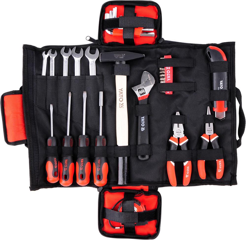 Набір інструментів в сумці 44 шт., YT-39280 YATO