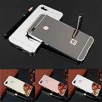 Чехол бампер для Huawei Enjoy 7 зеркальный, фото 1