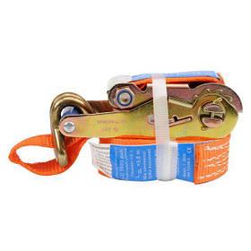 Ремінь для кріплення багажу з тріщаткою 1000daN, 35мм х 4м (82378 Vorel)