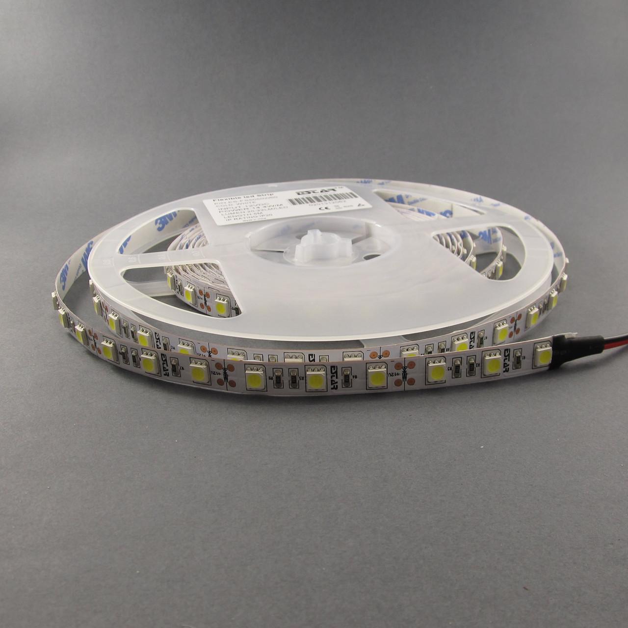 Светодиодная лента 5050/60 IP20 премиум