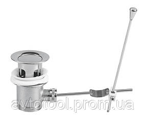 Пробка автоматична для раковини, латунь (75498 Vorel)
