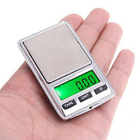 Маленькие ювелирные электронные мини-весы 398i 0,01 -200 гр +Чехол в Подарок
