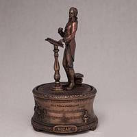 "Бронзовая статуэтка Музыкальная шкатулка ""Вольфганг Амадей Моцарт"" (19 см)"