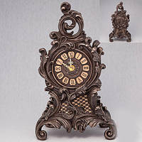 Бронзовая статуэтка Часы Каминные (31 см)