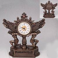 Бронзовая статуэтка Часы Атланты (28 см)